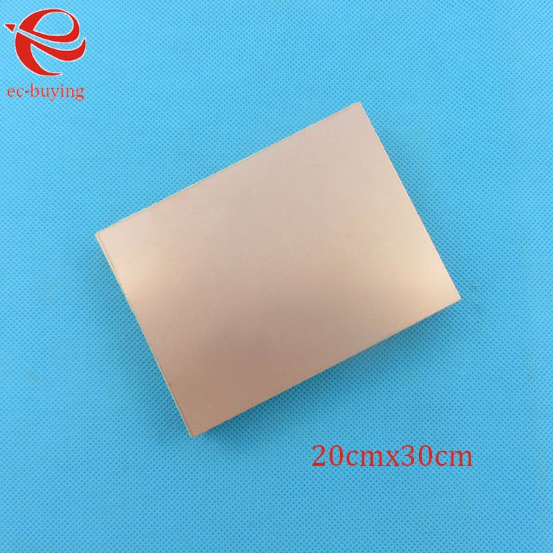 Copper Clad Laminate Double Side Plate CCL 20x30cm 1.5mm FR4 Universal Board Practice PCB DIY Kit 200*300*1.5mm
