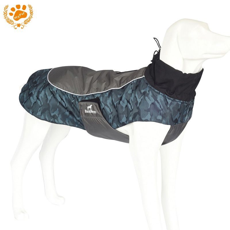 My Pet Waterproof dog clothes Outdoor Reflective <font><b>Strip</b></font> Dog Jacket Winter Warm Breathable costumn Plus Size Clothes For Dog