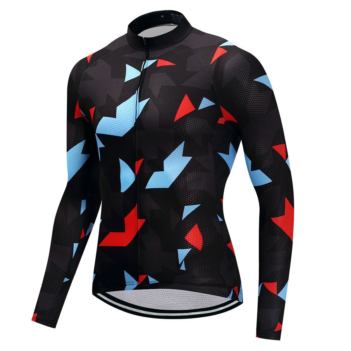 Fualrny Warm 2018 Pro Winter Thermal Fleece Cycling Jersey Ropa Ciclismo Mtb Long Sleeve Men Bike Wear Clothing Maillot #ZR-02