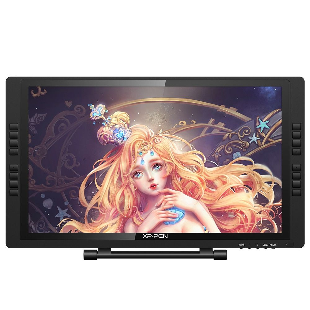 XP-Pen Artist22E Pro FHD IPS Digital Graphics Drawing Monitor Pen <font><b>Display</b></font> Monitor with Shortcut keys and Adjustable Stand