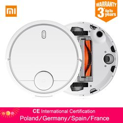 Global Version Original XIAOMI MI Robot Vacuum Cleaner Smart Planned Type WIFI App Control Auto Charge EU Russia Stock