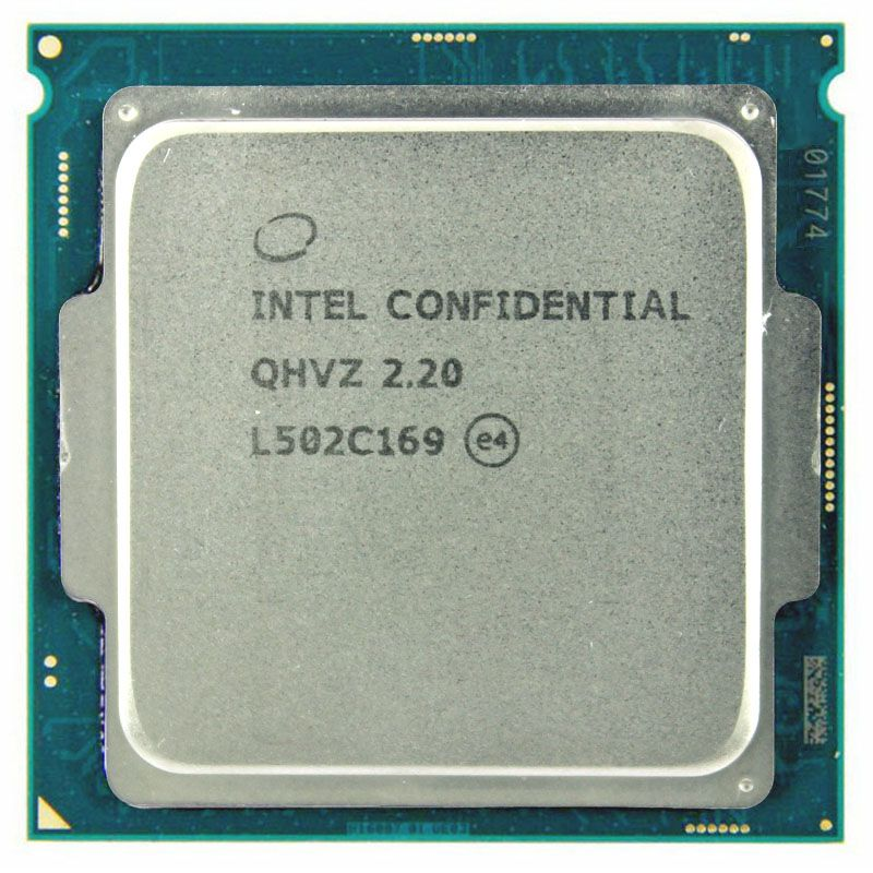 QHVZ 2.2 INTEL I5 Engineering version ES of INTEL CORE I5 CPU 2.2GHz Q0 step skylake as QHQG quad core socket 1151