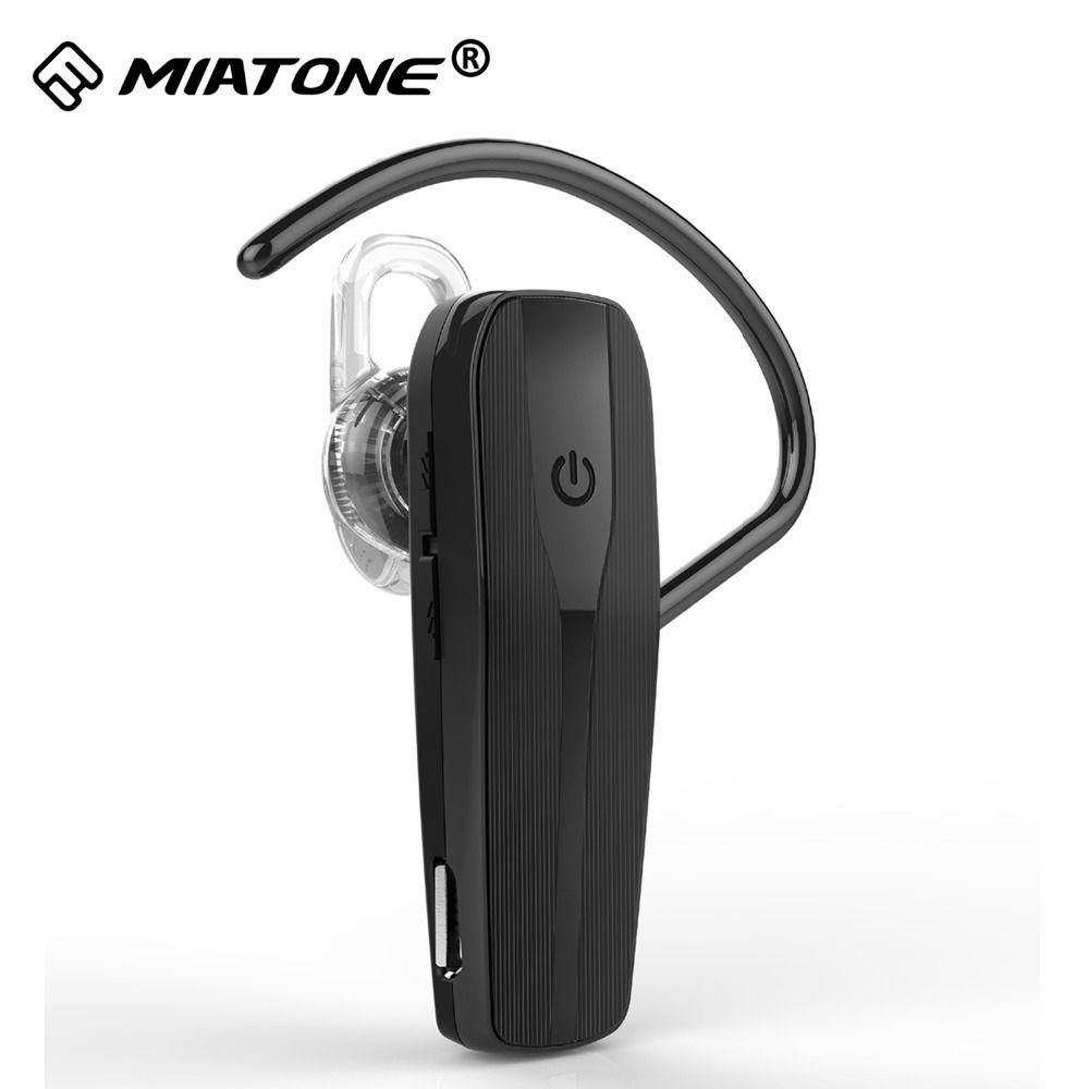Sans fil Bluetooth Casque 4.2 avec Antibruit MIC Mains Libres Casque Écouteurs Écouteurs pour Huawei iPhone Téléphone Intelligent