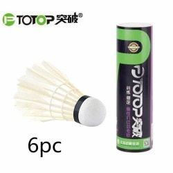 PTOTOP Natural Goose Feather Badminton Training Ball Indoor Outdoor Sport Entertainment Badminton Shuttlecocks Ball dropshipping