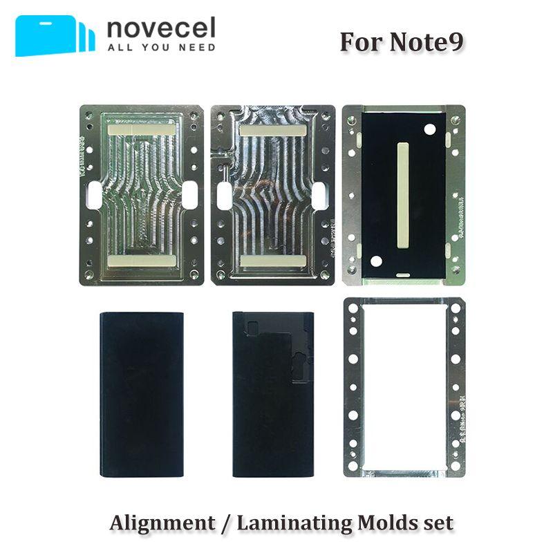 Novecel Für Samsung Hinweis 9 8 S8 S9 Plus LCD Ausrichtung/Laminieren Mould für Kompatibel Mit Q5 A5 Laminieren maschine