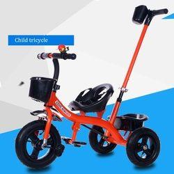 2017 Anak Baru naik sepeda roda tiga troli bayi sepeda 1-3-5 tahun anak bayi mainan diri stroller