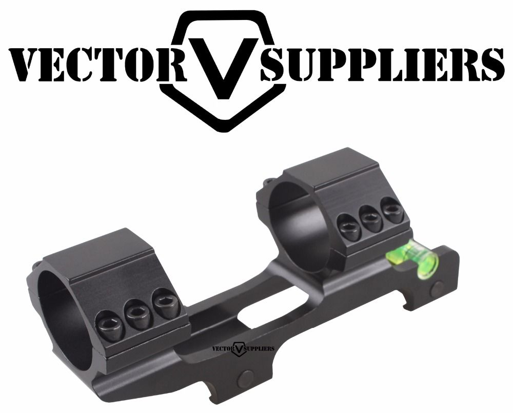 Vector Optics 30mm  Cantilever rifleScope Anti Cant Device ACD Bubble Level Mount with 1 inch Adapter Ring 139mm Bracket