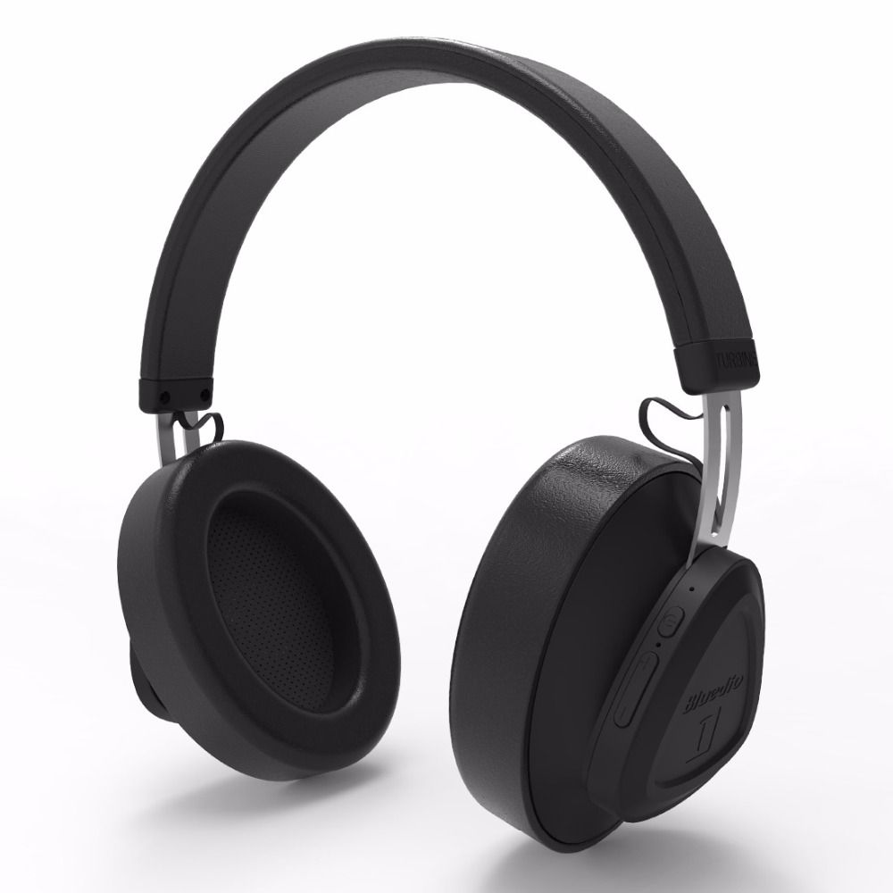 Bluedio TM wireless bluetooth headphone with microphone monitor studio headset for music and phones support <font><b>voice</b></font> control