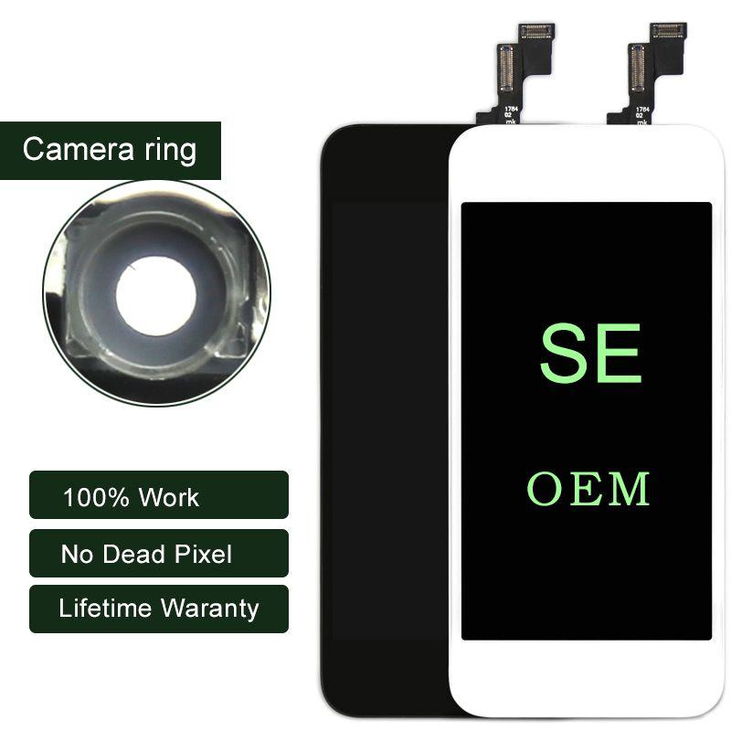 Premium ESR pour iphone SE LCD affichage OEM avec écran tactile numériseur pas de Pixel mort pour l'assemblage de l'écran iphone noir et blanc