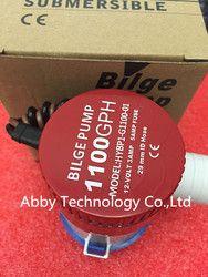 High quality 100% NEW bilge pump 12v 1100gph 12VDC rule water pump used in boat seaplane motor homes  houseboat