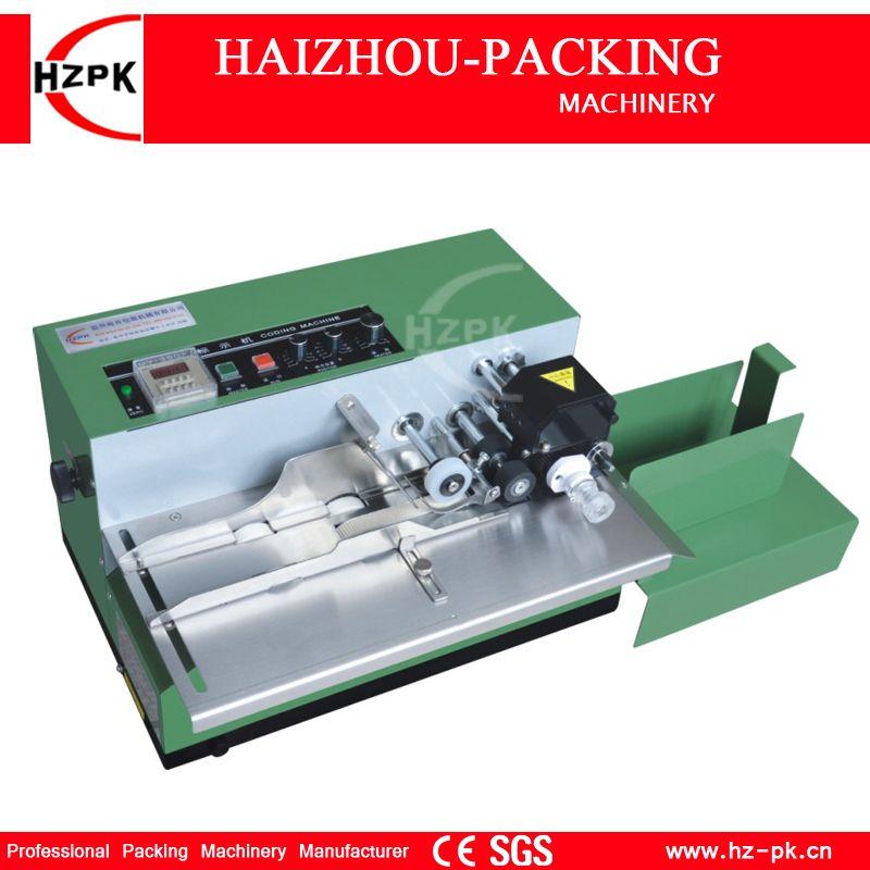 HZPK Solid Ink Date Code Printing Machine Desk Type Coding Machine Iron Shell Packing Machine For Food Bag Box Date Pack MY-380F