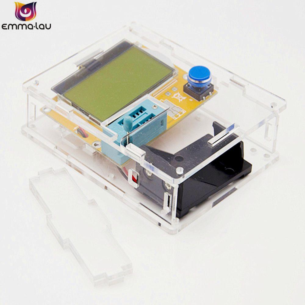 Supporting Shell LCR-T4 ESR Meter Transistor Tester Digital Mega328 M328 Lcr Diode Triode Capacitance Test Multimeter