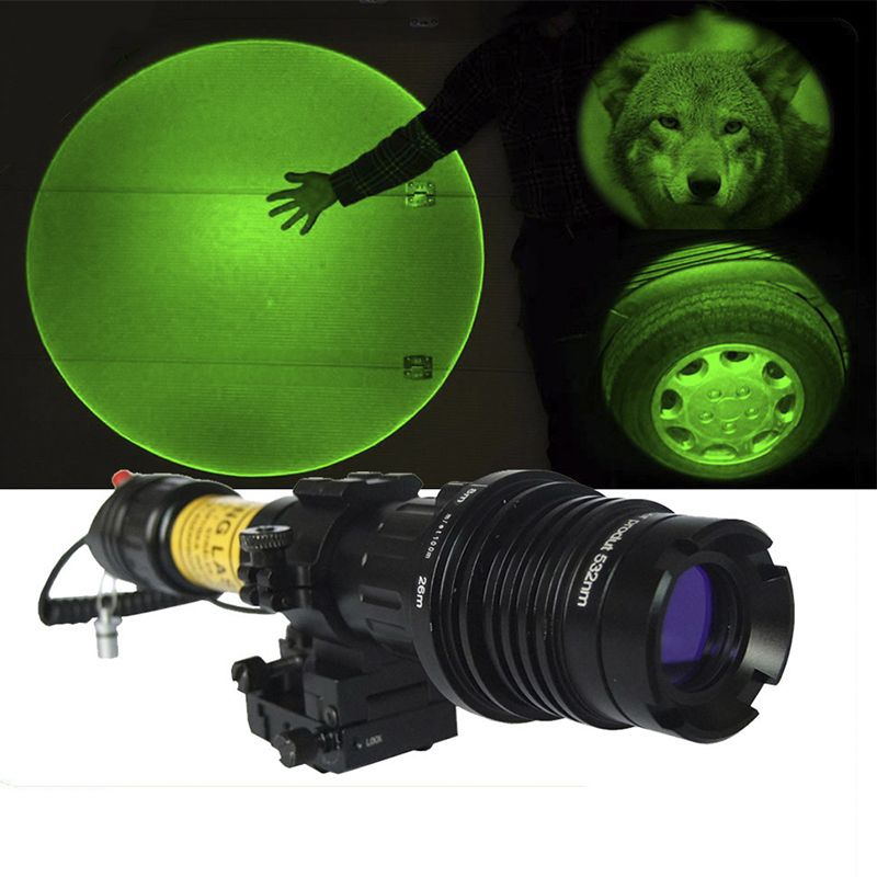 Laserspeed 100mw long distance green laser designator tactical green laser designator