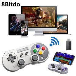8 8bitdo Gamepad pour Nintendo Commutateur Windows macOS Android Contrôleur Joystick Sans Fil Bluetooth Contrôleur de Jeu SF30 Pro GamPad