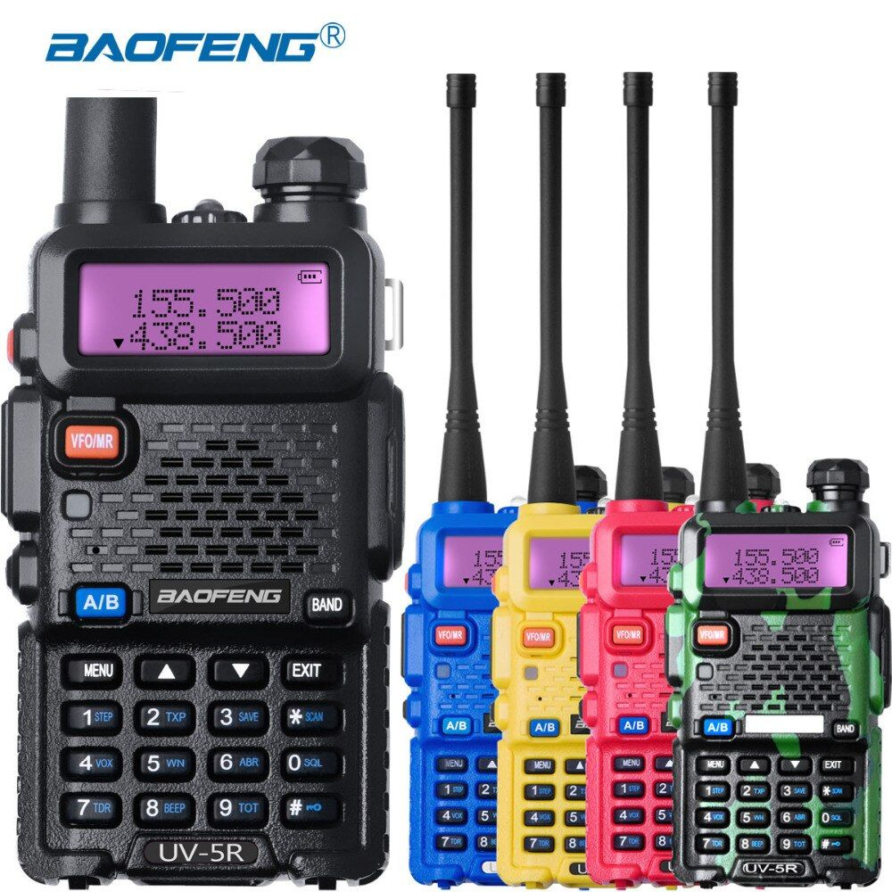 Baofeng UV-5r Radio Station uv5r Walkie Talkie UHF VHF Powerful uv 5r walky talky FM 128CH VOX Ham Radio for Hunting Radios Sets