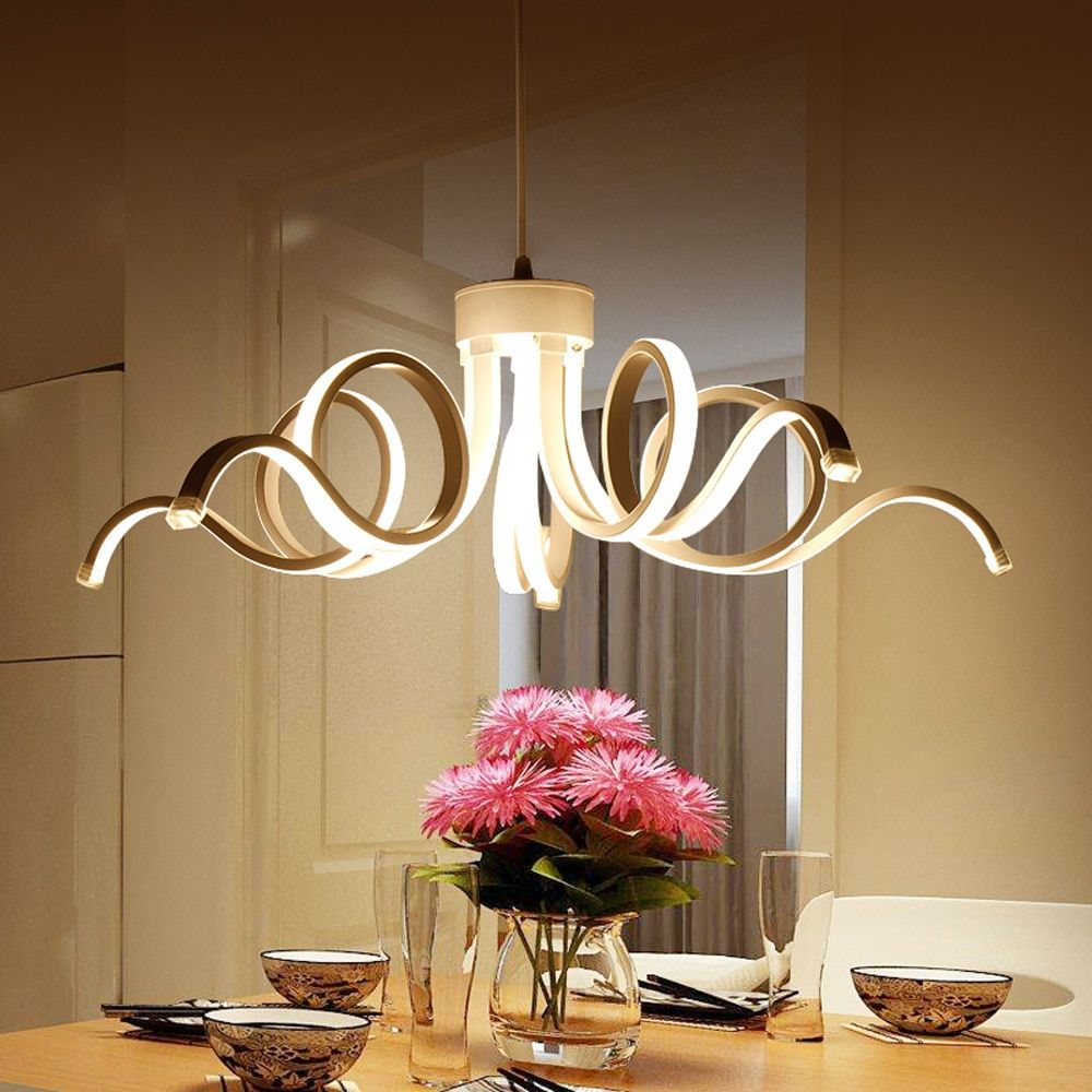 Led Lamp Pendant Lights Lustre Lamparas De Techo Colgante Moderna Suspension Luminaire Chandelier Ceiling Hanglamp Home Lighting