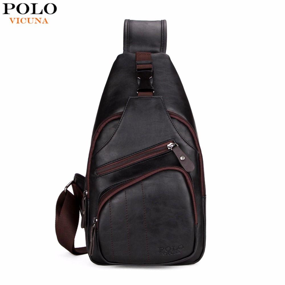 Викуньи поло очень большой размер мода мужская сумка burglarproof snapper черная кожаная мужская Сумка Груди