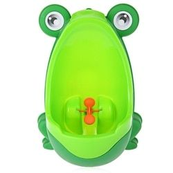 Portable Potty Urinal Standing Toilet Penico Frog Shape Kids Boy Bathroom Potty Urinal Toilet Closet Learning training Toy Gifts