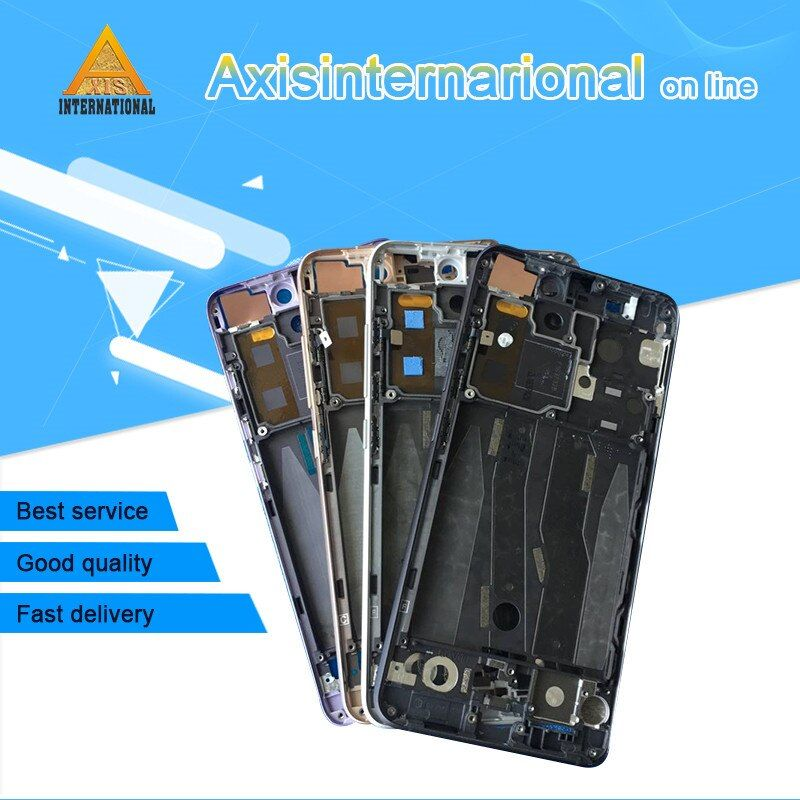Axisinternational For Xiaomi 5 M5 Mi5 Front bezel / Middle frame Housing Silver/black/gold/purple/ free shipping