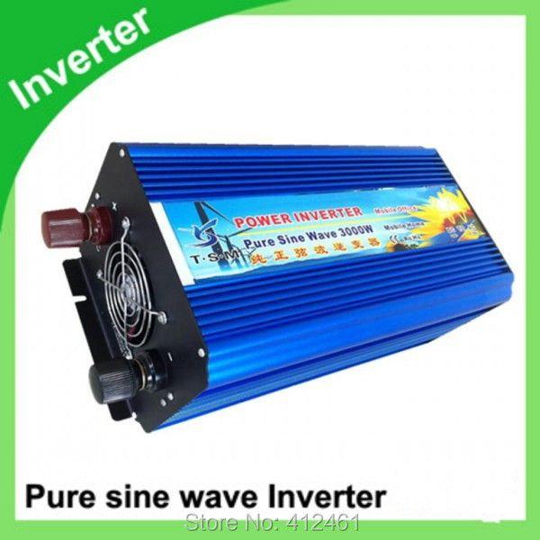 3000W Reine Sinus Welle Inverter 3KW DC ZU AC Power Inverter