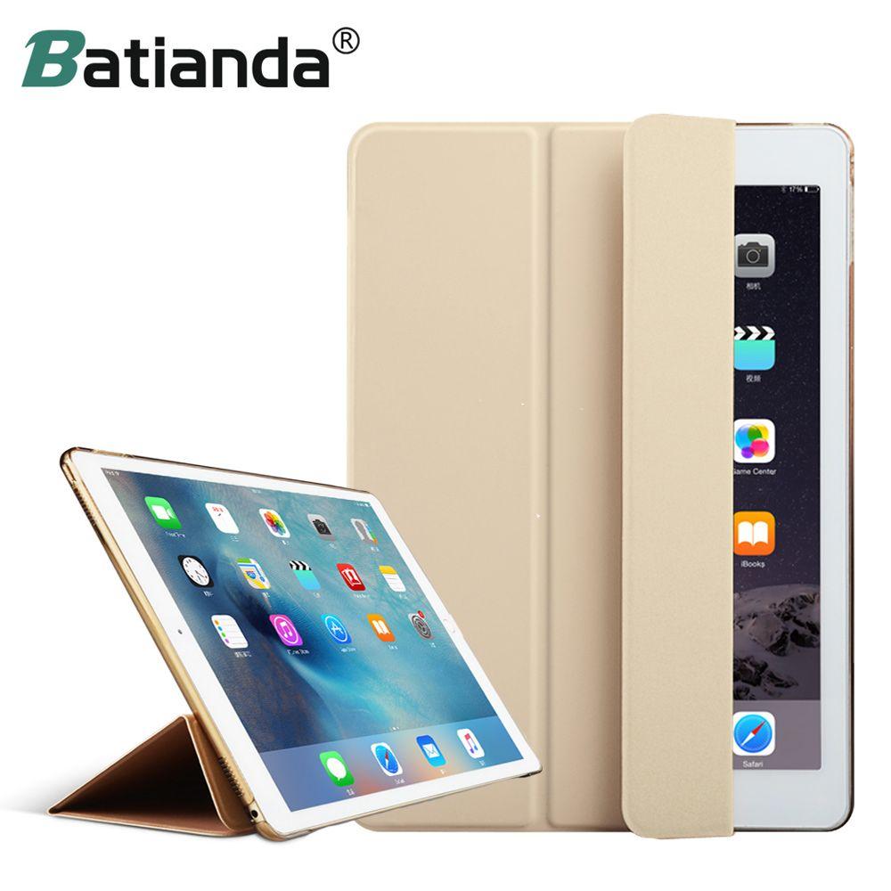 Mode Ultra mince magnétique avant Smart Case Skin + couverture arrière PC dur pour iPad Pro 12.9