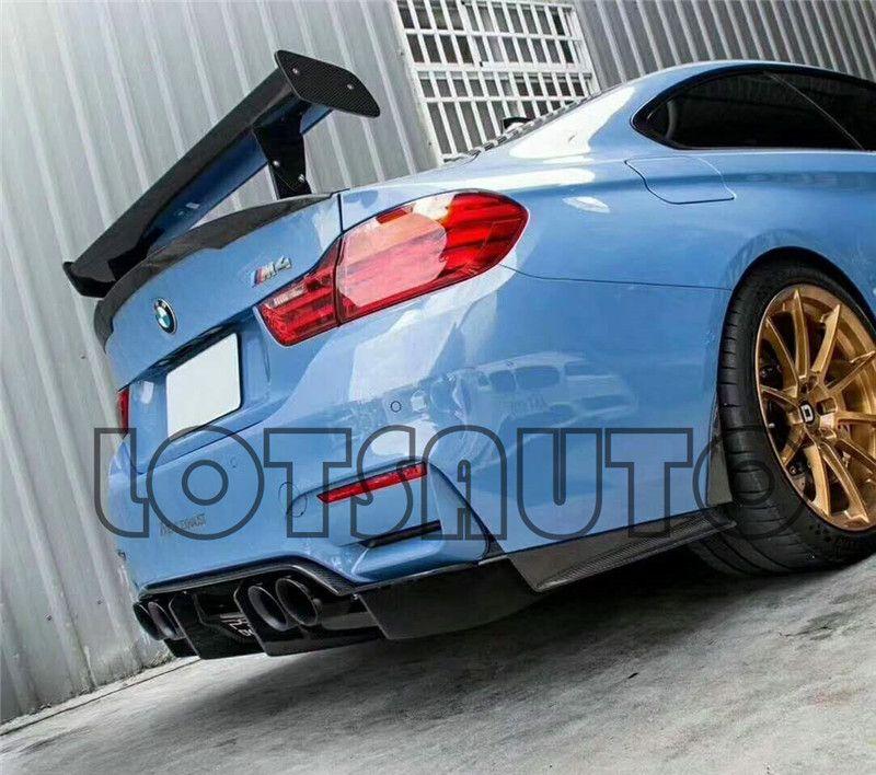 New GTS II Carbon Fiber Trunk Spoiler For 1M M3 E82 E87 E92 E93 F30 F10 Revozport Style Auto Wing Carstyling