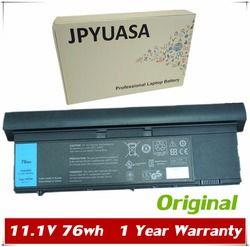 Jpyuasa 11.1 V 76wh Asli RV8MP H6T9R 1NP0F 37HGH Baterai Laptop Dell Latitude XT3 Tablet PC 9 Sel