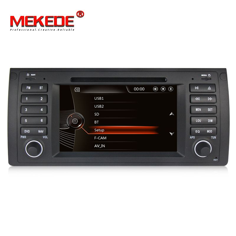 Auto Multimedia-player Unterstützt DVD/GPS Navi Für BMW/5 Serie E39/X5 E53/M5 Original auto interface Bluetooth/IPOD/Radio/ATV/SD USB