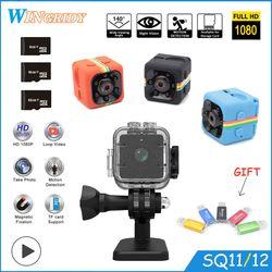 SQ11 SQ12 Mini camera Waterproof degree wide-angle lens HD 1080P Wide Angle SQ 12 MINI Camcorder DVR SQ 11 Sport video camera