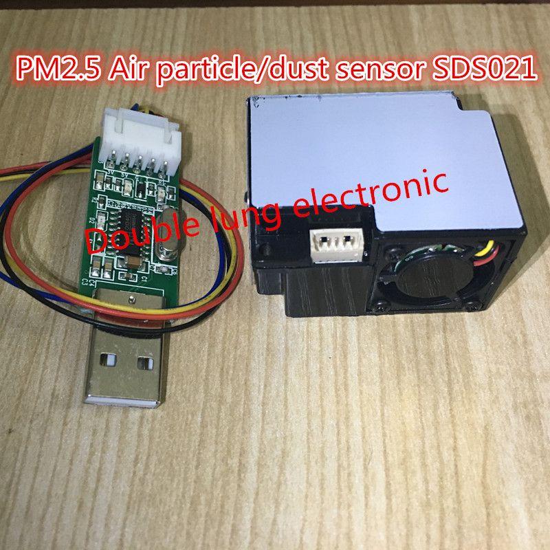 Nova PM2.5 Air particules / capteur de la poussière sds021, Laser à l'intérieur, Sortie numérique SDS021 Laser du capteur de pm2 Ultra petite de particules