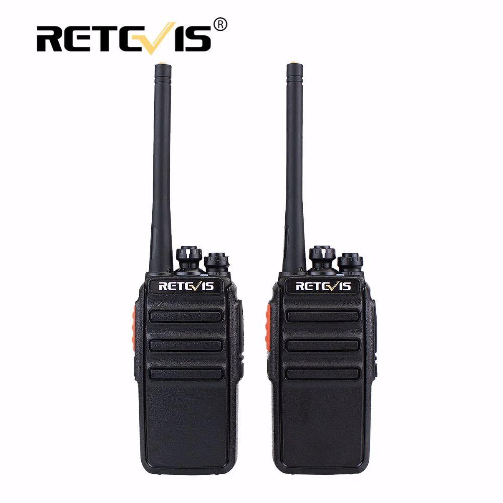 2pcs Retevis RT24 PMR Walkie Talkie License-Free Radio 0.5W 16CH UHF 446 PMR446 Scrambler Ham Radio Hf Transceiver Comunicador