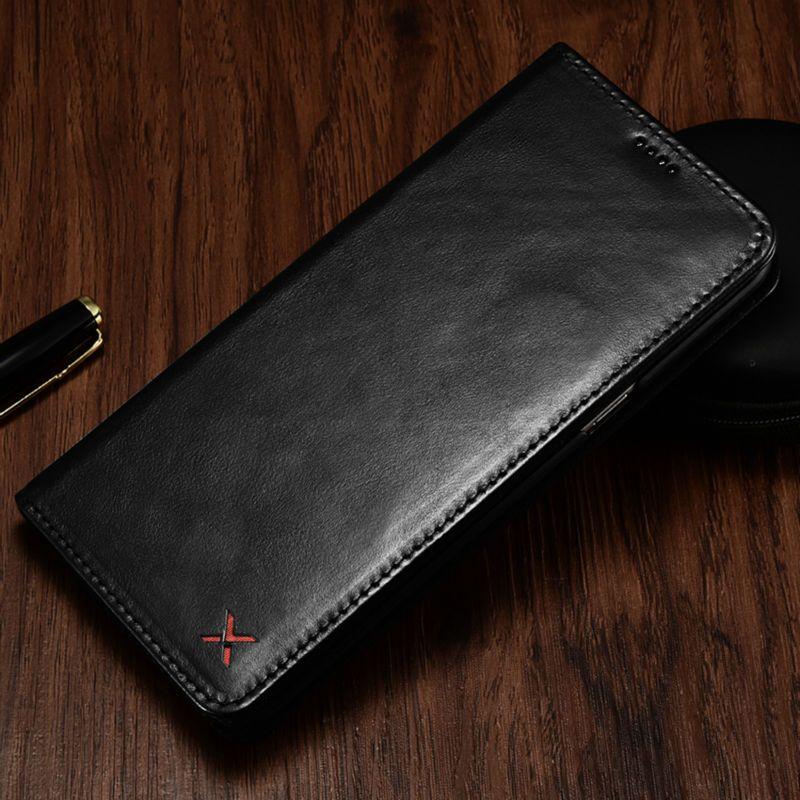 D'origine XOOMZ Portefeuille Cas Pour Apple iPhone 7 8/Plus De Luxe véritable Cuir Magnétique Flip Sacs de Cas de Couverture Pour l'iphone 8 7 Plus