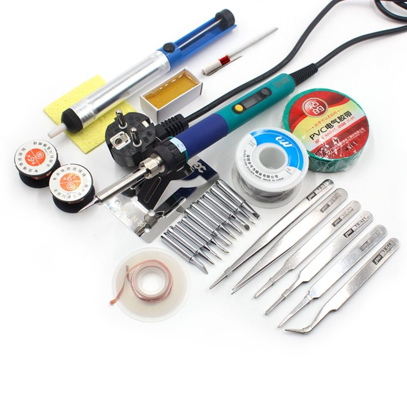 CXG 936d Digital LCD Adjustable temperature Electric Soldering station Electric soldering iron 60W