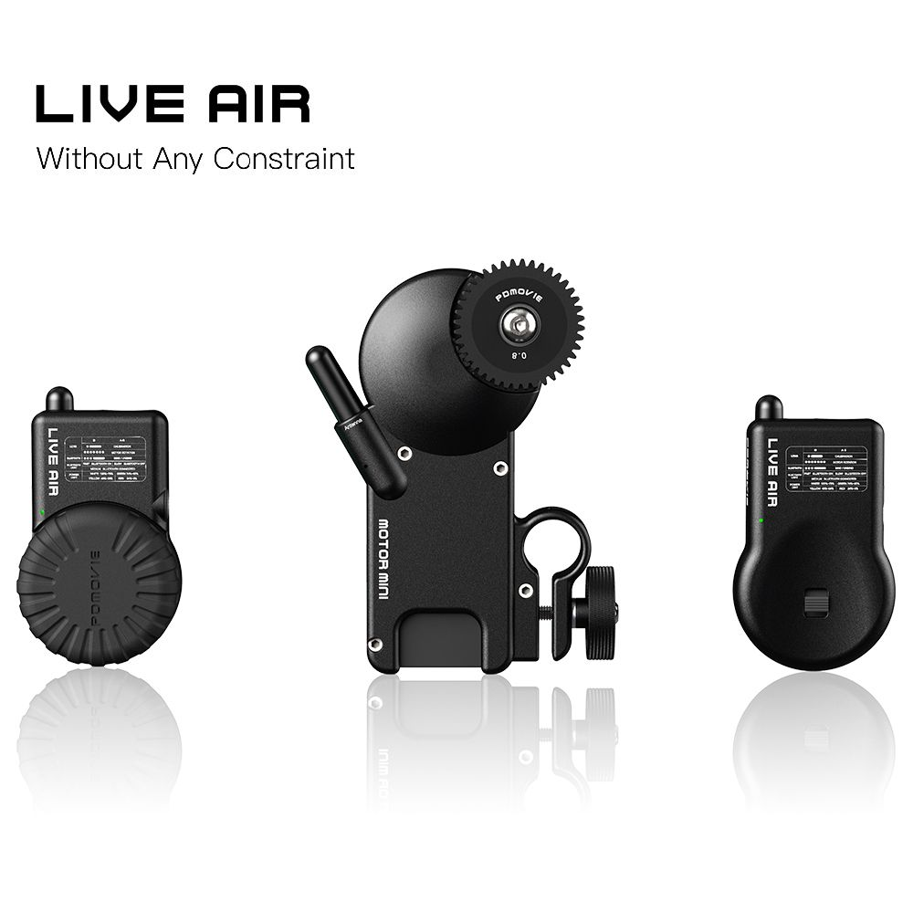 PDMOVIE LIVE AIR Bluetooth Wireless Follow Focus System For Zhiyun Crane 2 DJI RoninS RONINS AK2000 AK4000 Zhiyun Crane2