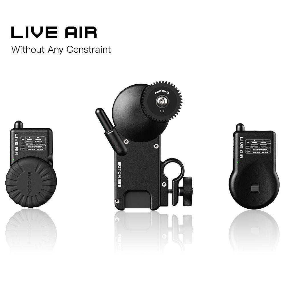 PDMOVIE LIVE AIR Bluetooth Wireless Follow Focus System For Zhiyun Crane 2 DJI RoninS RONINS AK2000 AK4000 Zhiyun Crane2