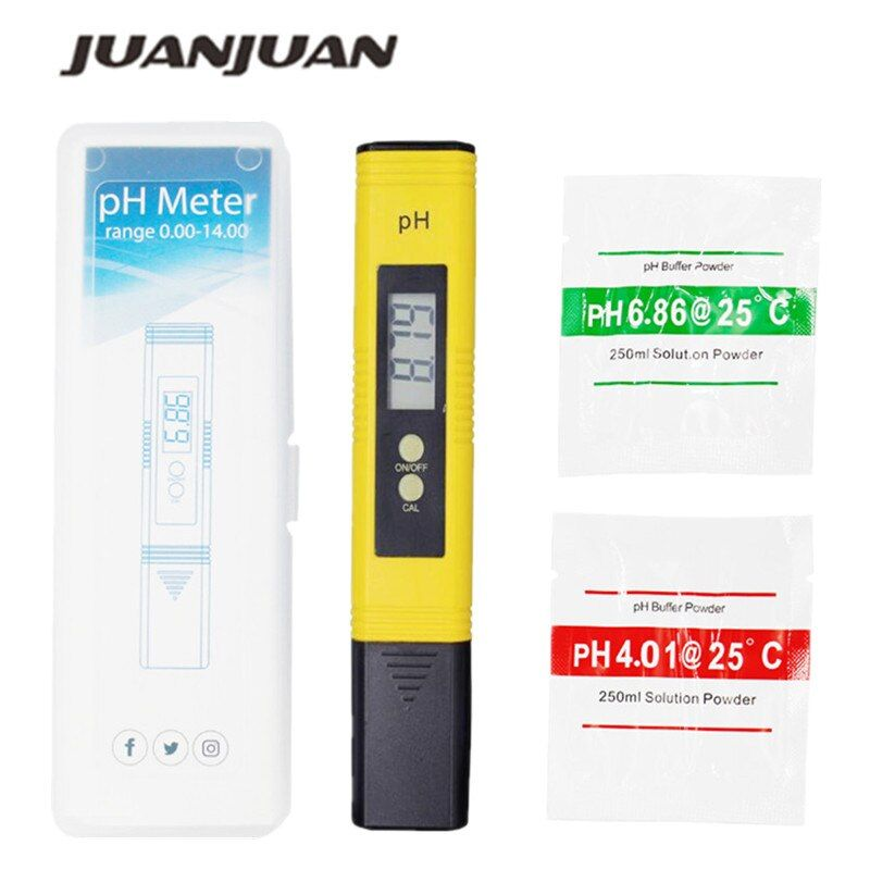 New Protable LCD Digital PH Meter Pen of Tester accuracy 0.01 Aquarium Pool Water Wine Urine automatic calibration 22%off