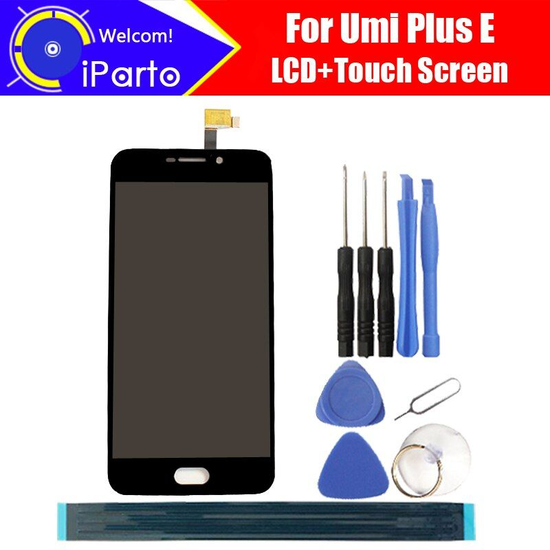 5.5 inch Umi plus E LCD Display+Touch Screen 100% Original Tested Digitizer Glass Panel Replacement For plus E 1920x1080 + Tools
