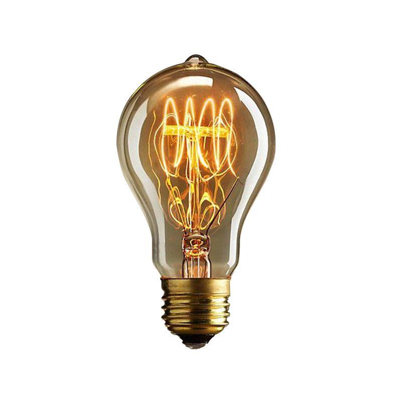A19 Lovely Bulb E27 Incandescent Vintage Light Bulb,Household/Bar/Coffee Shop/Hotel /Dress Shop Retro/Classic/ Light Bulb[PD-50]