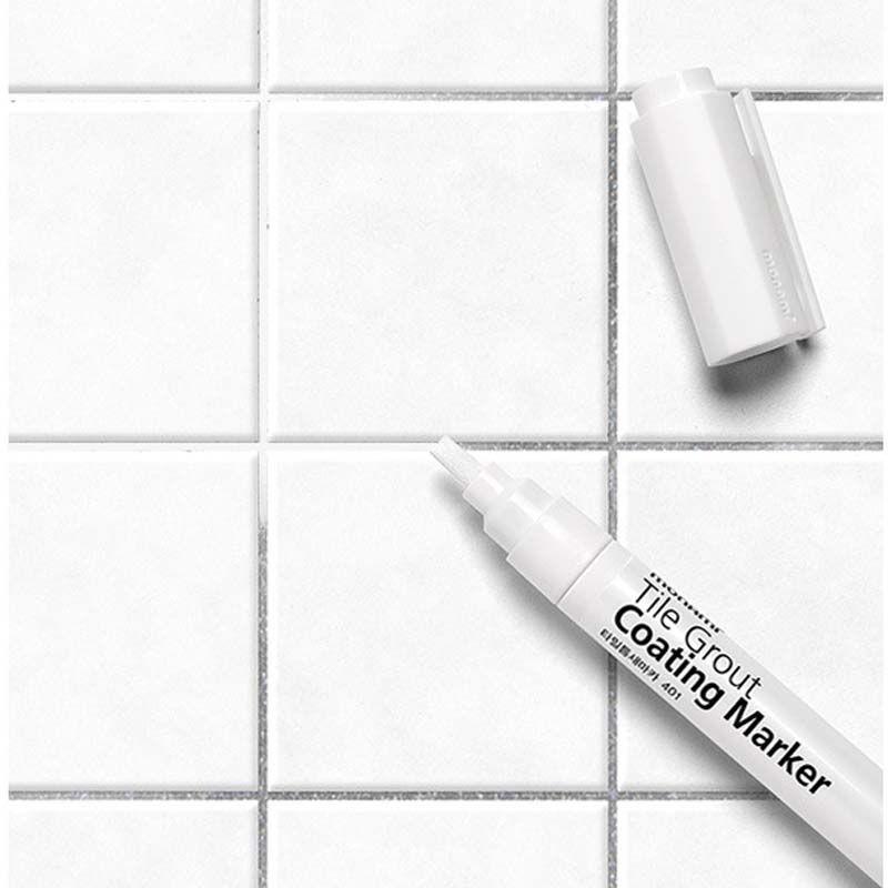 Carrelage Gap réparation couleur stylo blanc carrelage recharge Artline coulis stylo étanche moulure Agents de remplissage mur porcelaine