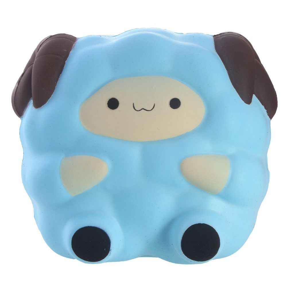 Squishies Kawaii Big Sheep Squishy Slow Rising Soft Squeeze Stuffed Kids Toys Phone Strap Fun Pressure Release Toy Gift