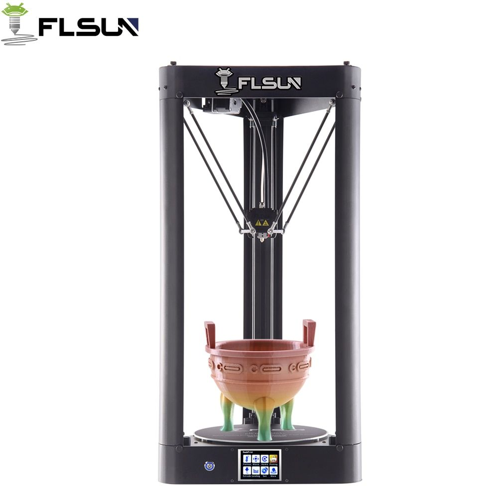 Flsun-QQ High Precision 3D Printer High Speed 95% Pre-assembly Printing Area 260*260*370mm Auto-leveling Touch Screen Wifi Model