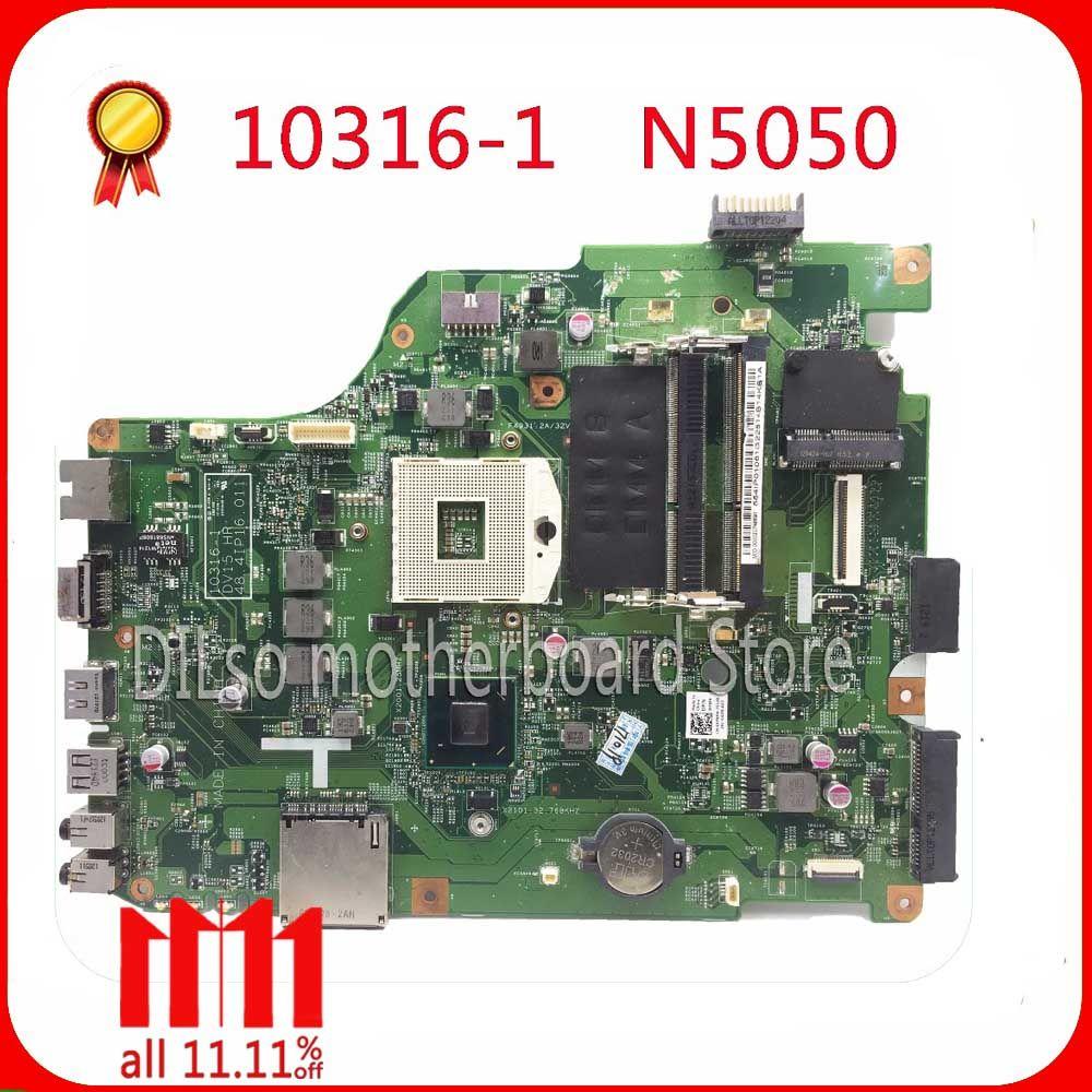 KEFU 10316-1 For Dell n5050 laptop motherboard 10316-1 DV15 HR 48.4IP16.011 motherboard integrated HM67 original Test