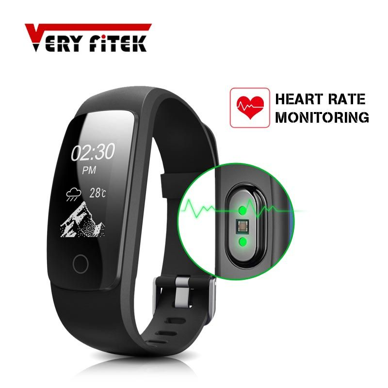 ID107 PLUS Smart Bracelet Heart Rate Monitor Music Remote Control Fitness Cardio Tracker Wristband for IOS Android Pk Mi Band 2