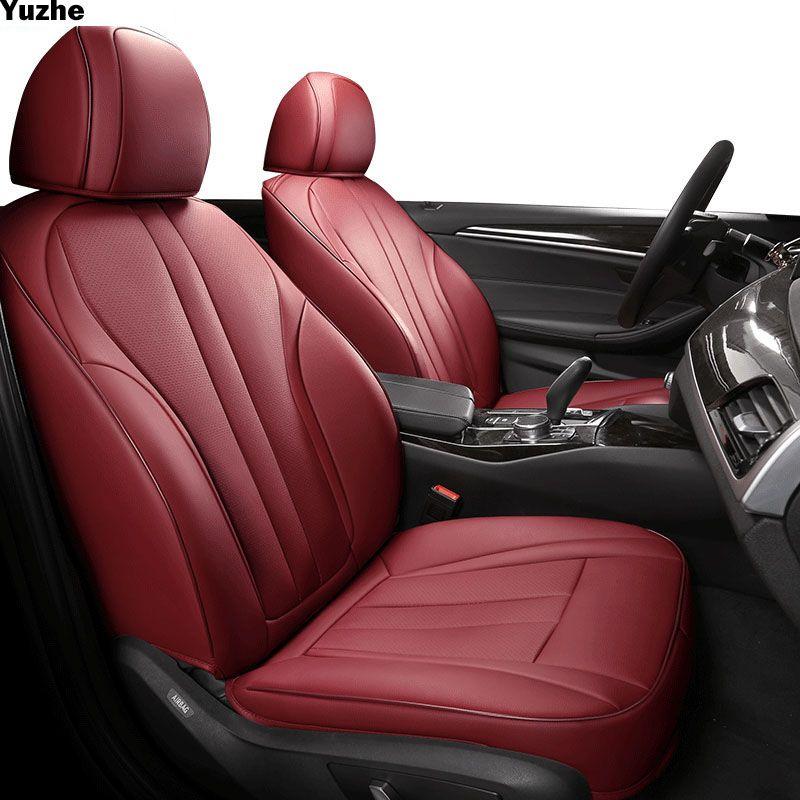 Yuzhe auto Echtem leder sitz abdeckung Für audi a1 a3 8 p 8l sportback a6 4f A4 A6 A5 Q3 q5 Q7 zubehör abdeckungen für auto sitze