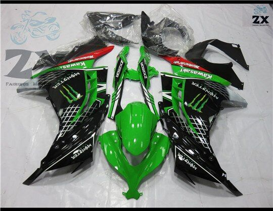 Motorcycle Fairings for Kawasaki 300R kit Ninja ZX 300 2013 2014 EX300 2013 2014 2015 fairing kits SUK 3005 UV