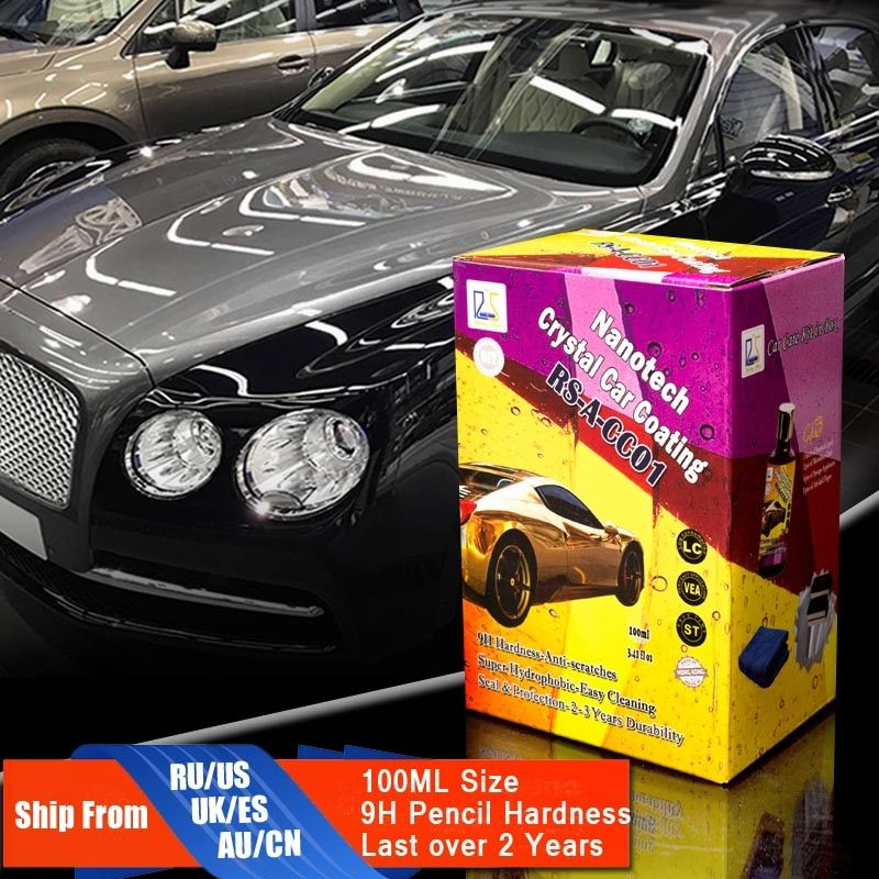 Восходящая звезда rs-a-cc01 жидкости Стекло Nano Керамика автомобиля Средства ухода за мотоциклом покрытие гидрофобные Pro Кристалл покрытия авто...
