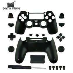 Remplacement Complet shell et boutons mod kit Pour jds 040 DualShock 4 PlayStation 4 PS4 Pro Mince Contrôleur Couvercle Du Boîtier cas