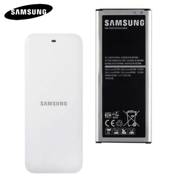 Original Battery+ Cradle Dock Charger FOR Samsung <font><b>GALAXY</b></font> NOTE 4 N910A N910C N910F N910G N910H N910FD NOTE4 EB-BN910BBE 3220mAh