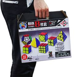 8 Buah/Set Sihir Batu Skew SQ1 Megaminx Mastermorphix Segitiga Cermin Kubus 3*3 Cubos 3 Lapisan 2*2 2X2 3X3 Shengshou