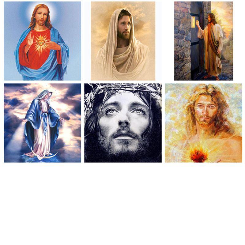 diamond painting 5d,jesus,religion,full diamond embroidery,painting rhinestones,diamond painting jesus